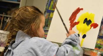 schilderen op muziek